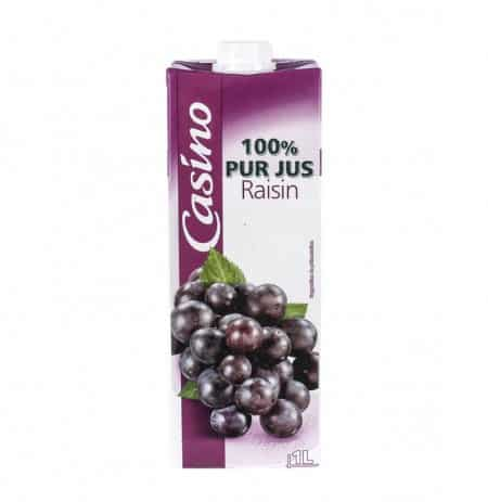JUS DE RAISIN CASINO